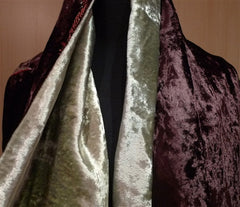 Georgina Von Etzdorf Embroidered Velvet Shawl