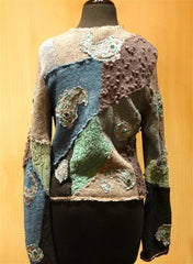 Pazuki Zenobia Mermaid Cardigan Sweater