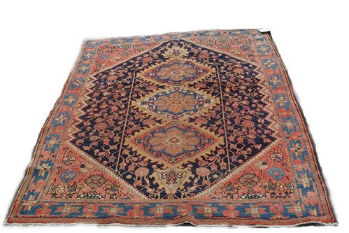 Antique Tribal Malayes Rug