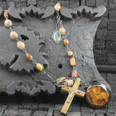 Kimmie Winter  Rosary Necklace