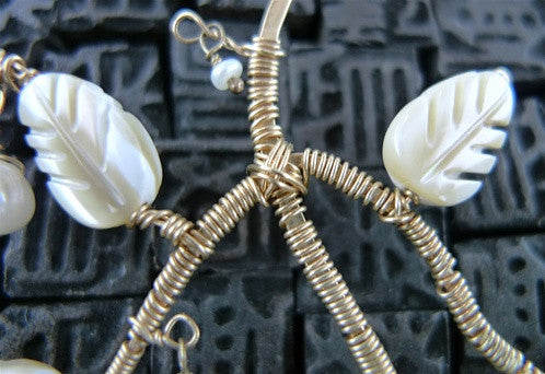 Kuumba Rose Petal Earrings