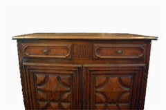 Antique Italian Provincial Style Credenza Early 19th Century Tuscany