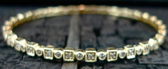Beverly K 14K Yellow Gold and Diamond Bracelet
