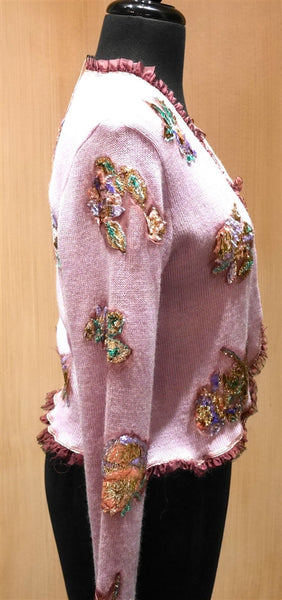 Pazuki Embellished Cardigan Sweater