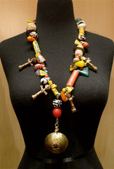 Antique Afghani Tribal Wedding Necklace - One of a Kind