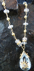 Talisman Unlimited White Topaz Rapture Necklace in 14K Yellow Gold