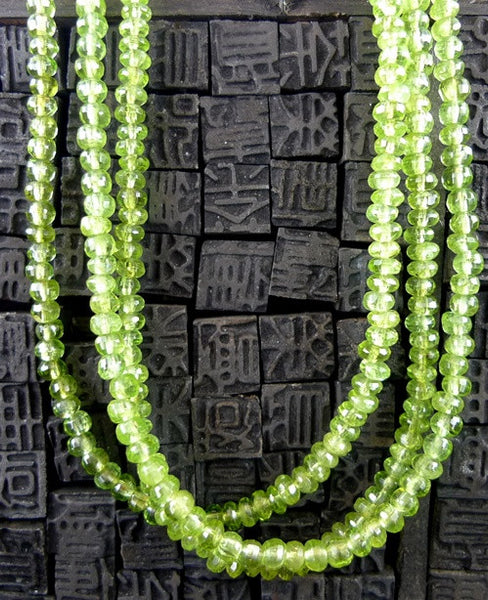 Faith Designs Peridot Vintage Necklace