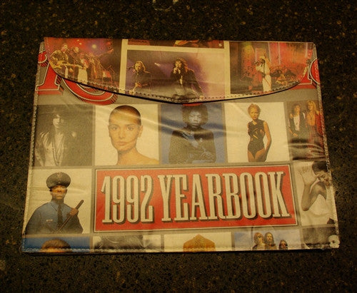 "YSM ""1992 Yearbook"" Rolling Stone Document & iPad Case"