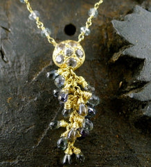 Talisman Unlimited 18K Yellow Gold and Labradorite Necklace