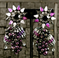Erickson Beamon Pomp Circumstance Earrings