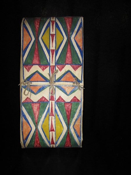 Antique Plateau Indian Painted Parfleche Storage Envelope
