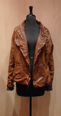 Giorgio Brato Cognac Leather Jacket