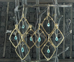 Koomba Apatite Earrings