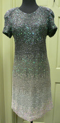 Manish Arora Ombre Sequin Dress