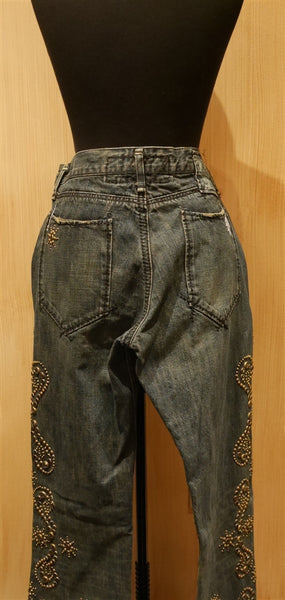 Great China Wall Studded Jean