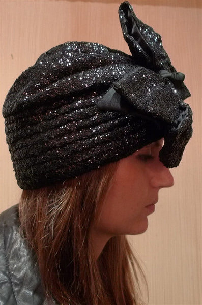 Kokin Sequined Garbo Hat