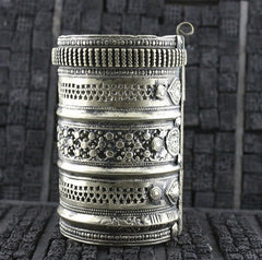 Gypsy Kuchi Tribe Wide Cuff