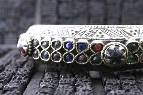 Gypsy Kuchi Tribe Color Cuff