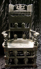 Antique African Chieftain's Chair/Throne