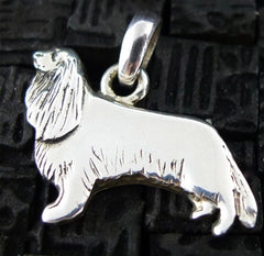 Fine Arf Sterling Silver Dog Charm - Cocker Spaniel