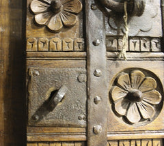 (Pair) Antique Palace Doors from Sultan's Residence in Zanzibar - One of a Kind