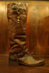 HTC Hollywood Trading Company Brown Hurricane Boot