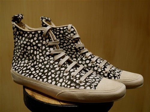 Emma Hope Hi-top Spotted Hide Sneakers