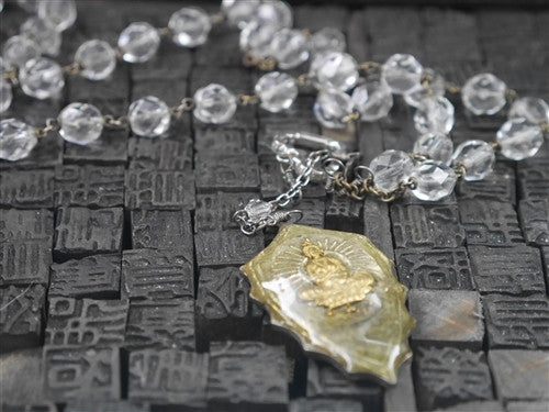 Kimme Winter Crystal Budda Necklace
