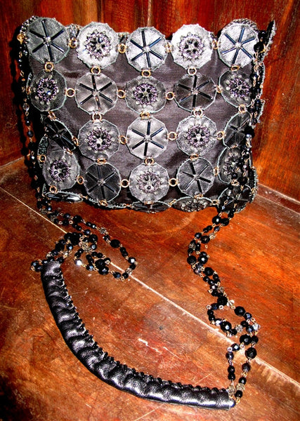 Erickson Beamon Raven Beaded Handbag for Day or Evening