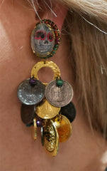 Erickson Beamon Eccentric Lady Earrings