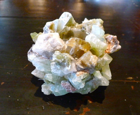 McCoy Classic Green Calcite Rock Quartz Votive Candle