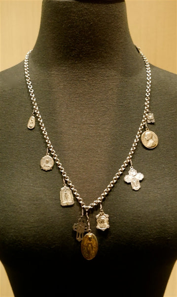 Kimmie Winter Multi Charm Necklace