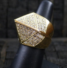 CC Skye Pave Bonnie and Clyde Ring