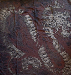 HTC Hollywood Trading Company Dragon Bandana Scarf