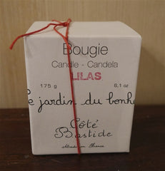Cote Bastide Lilas Bougie Candle