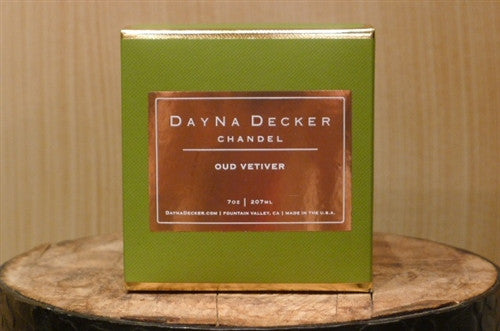 "Dayna Decker Candle - ""Oud Vetiver"""
