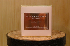 "Dayna Decker Candle - ""Santal Rouge"""