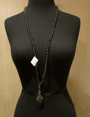 Love Heals Foxcreek Necklace in Smokey Topaz
