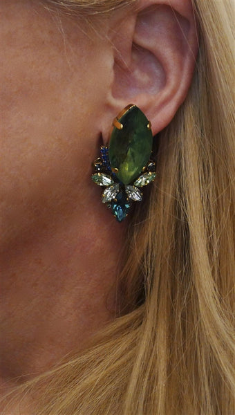 Erickson Beamon Pretty in Punk Earrings