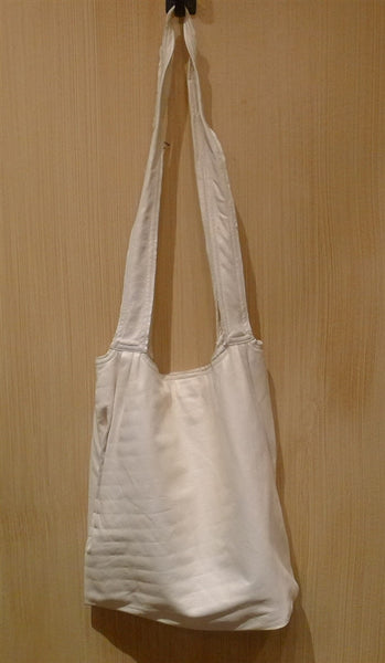 Twelfth Street Cynthia Vincent Soft Leather Studded Tote in White