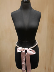 My Flat in London  Pink Pearl Belt / Necklace