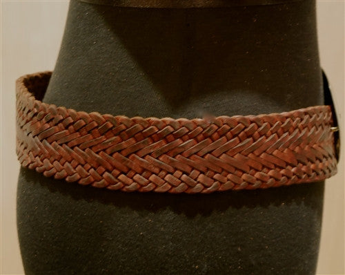 Toobkal Braided Belt with Fossil Buckle