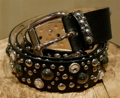 Street's Ahead Crystal Stud Belt