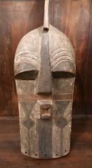 African Congo Songye Tribal Mask - One of a Kind