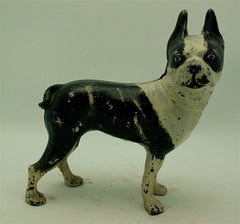 Antique Boston Terrier Cast Iron Doorstop
