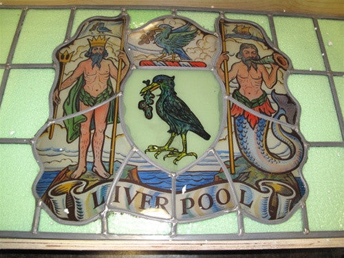 Stained Glass Window from Liverpool