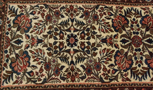 Antique Hamadan Oriental Rug