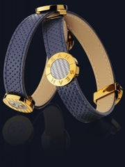 Seah 2-Wrap Elements Bracelet in Navy