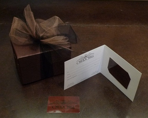 CHURCHILL $100.00 Gift Certificate