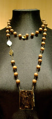 Kimme Winter Rosary Necklace